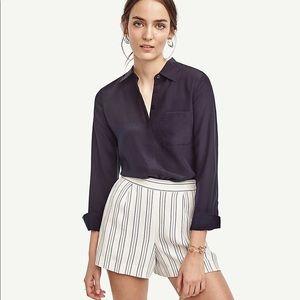 Ann Taylor Striped Shorts